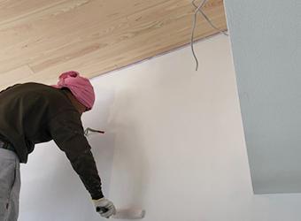 長野市壁紙クロス塗装