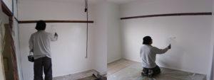 長野市 壁塗装完了