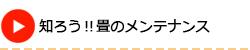長野市で知ろう!畳のメンテナンス