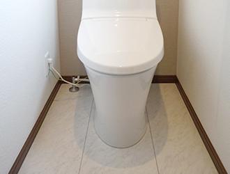 長野市トイレの床工事