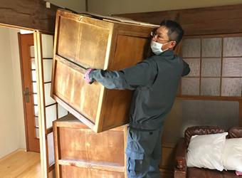 長野市壁紙張替え家具移動