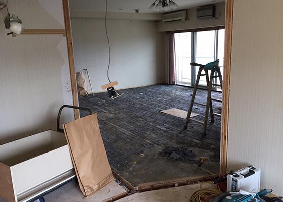 長野市マンション解体後の様子