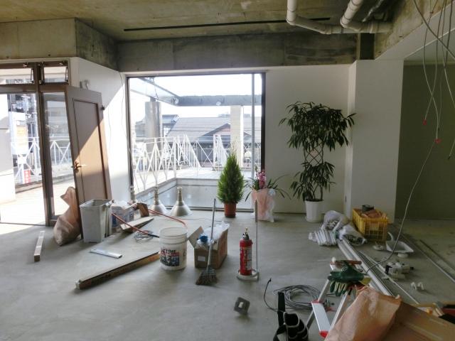 上田市の店舗内装工事