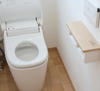 トイレを温風機能付きに交換長野市