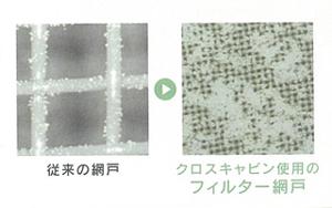 長野市花粉対策網戸クロスキャビン