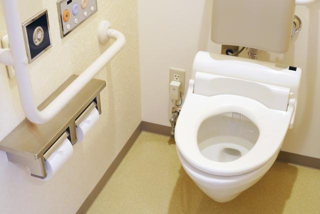 長野市トイレ手摺取付